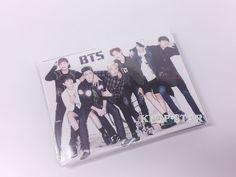 BTS Portable Photo Memo Pad KPOP Korean K Pop Star BangTan Bang Tan Boys