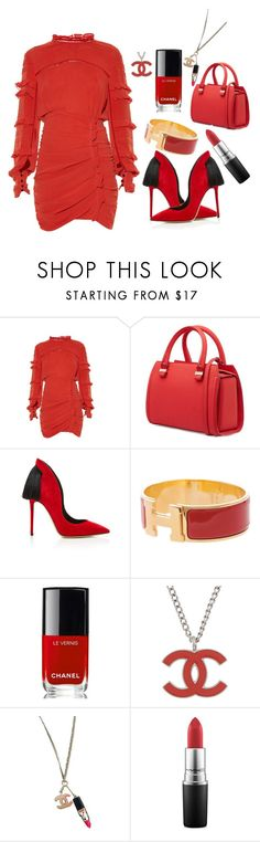 """💃🏻💃🏻💃🏻"" by ellenfischerbeauty ❤ liked on Polyvore featuring Isabel Marant, Victoria Beckham, Aleksander Siradekian, Hermès, Chanel and MAC Cosmetics"
