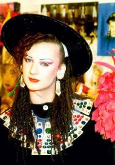 Boy George. I really like his outfit.
