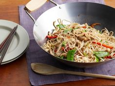Get Rachael Ray's No-Pain Lo Mein Recipe from Food Network