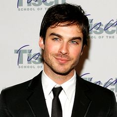 Ian Somerhalder for the part of Christian Grey in Fifty Shades the Movie!! Yessssss!!