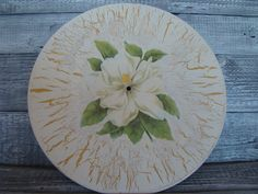 płyta decoupage (winylowa) w Hand-Made Decorations na DaWanda.com