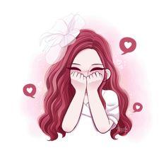 Pin de bella em blackpink фан арт, рисунки e идеи для рисунков. Kpop Drawings, Anime Girl Drawings, Anime Art Girl, Cute Drawings, Black Pink Kpop, Rose Art, Pink Art, Kpop Fanart, Cute Cartoon Wallpapers