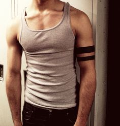 solid black arm band tattoo bicep - Google Search