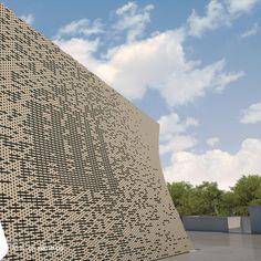Masjed-Alnabi of Tagh Bostan | Kermanshah, Iran | 2012 | Research & Design Religious | 1800 m2 | Design: Reza Mafakher ■ http://www.xemaarchitects.com/projects/detail/62/ #Religious #Mosque #Construction #Exterior #Design #Modern