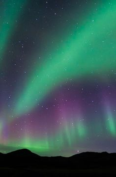 Northern Lights - Aurora Borealis, Iceland