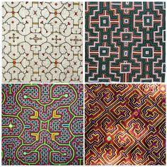 Shipibo | Patterns from Shipibo textiles are nonlinear artifacts of ayahuasca ...