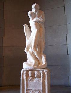 The Pieta Rondanini, Michelangelo's final work (Castello Sforzesco, Milan)