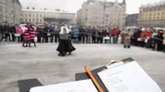 Lumitangon MM 2014  #lumi #lumitango #tampere #finland #snowtango #dance #tango #dancers #dancing #tammefors #finlandia #suomi #ittakestwototango #nordic #customs #culture #destinations #cities #arts