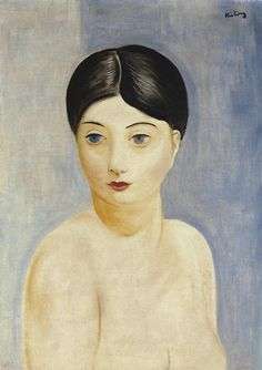 Moise Kisling73/131 Seated nude woman