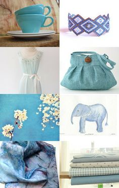 blue as the ocean  by Irén Jovanovic on Etsy--Pinned with TreasuryPin.com