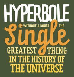 hyperbole - Google Search