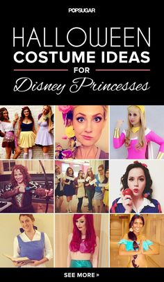 Have you always wanted to be a Disney princess? Well, now's your chance! Halloween is the perfect holiday for going girlie with a costume inspired by royal ladies Snow White, Cinderella, Aurora, Ariel, Belle, Jasmine, Pocahontas, Mulan, Tiana, Rapunzel, Merida, Anna, and Elsa. If you're flying solo, paired up with a partner or BFF, or in a group, we've found fabulous examples for all costume combos. There are cheap and easy costume ideas, some that require a little more work, and various…