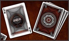 Grinders Playing Cards by Randy Butterfield (Midnight Cards) — Kickstarter