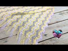 Blanket zig zag stitch crochet (english subtitles) - YouTube