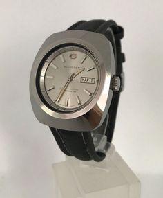 Bucherer Swiss Made Chronometer 1970 Apple Watch Fashion, Ladies Dress Design, Vintage Watches, Luxury Watches, Fashion Watches, Rolex, Ebay, Accessories, Vintage Clocks