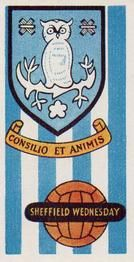 1958 Football Clubs and Badges #13 Sheffield Wednesday Front