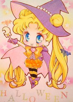 Сейлор Мун 6 Sailor Moons, Sailor Moon Art, Sailor Moon Halloween, Princesa Serenity, Sailor Moon Wallpaper, Moon Princess, Moon Illustration, Love Holidays, Fantasy Images