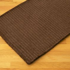 Colonial Mills Solid Chenille Rectangle Chocolate Kids / Juvenile Rug - SC89