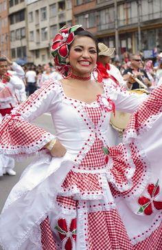 La alegria y el sabor de mi gente colombiana