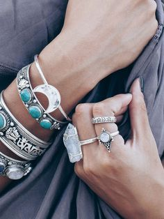 Love it all..especially the moon bracelet.