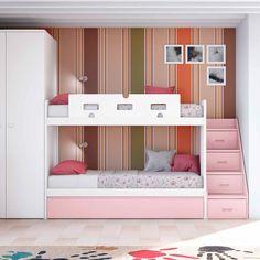 ΚΡΕΒΑΤΙΑ->Κουκέτες κρεβάτια->Κουκέτα compact Q1 - www.petitemaison.gr