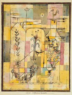 Paul Klee – Tale à la Hoffmann, 1921