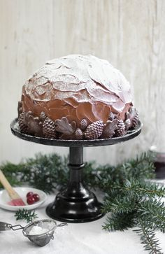 Black Forest Dome Cake Recipe