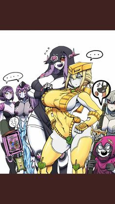 Jojo Anime, Thicc Anime, Anime Demon, Kawaii Anime, Jojo Stardust Crusaders, Jojo Stands, Gender Bender Anime, Jojo Parts, Anime Girl Hot
