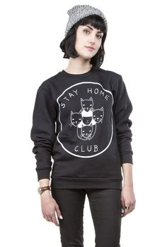 Stay Home Club Crewneck Sweatshirt – Stay Home Club
