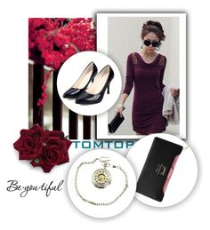 """""""TOMTOP 25/30"""" by melisa-hasic ❤ liked on Polyvore featuring Schone, vintage and tomtop"""