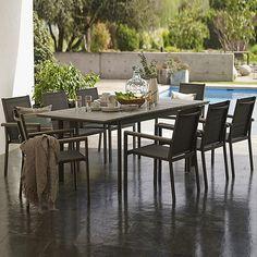 Ligeros y transportables, elige comedores de aluminio para tu terraza esta temporada #Sodimac #Homecenter.