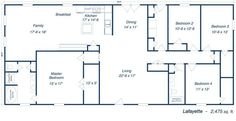 metal 40x60 homes floor plans |
