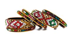 lac handmade bangles by zubiacollections on Etsy https://www.etsy.com/listing/211849272/lac-handmade-bangles
