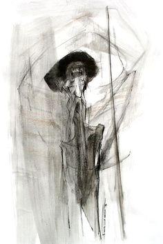 Marcel Nino Pajot - Don Quichotte, homme de la Manche.