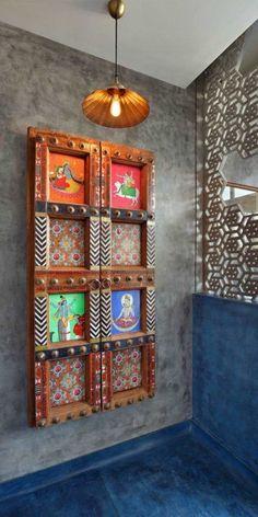 Modern Home Decor Bedroom Indian Home Interior, Indian Interiors, Home Interior Design, Ethnic Home Decor, Indian Home Decor, Indian Wall Decor, Home Decor Furniture, Home Decor Bedroom, Deco Zen