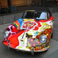 Janis Joplin's Porsche - http://www.inmygarage.com/star-cars-janis-joplins-1965-porsche-356c/