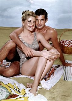 Dolores Hart and George Hamilton in Where the Boys Are