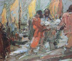 "Robert Sterl, ""An der Wolga"" - Bild 794006"