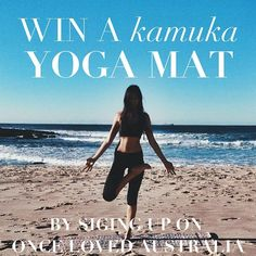 Time to get active Australian babes! WIN A @kamukaactive YOGA MAT of your choice - the perfect excuse to get your sweat on!   All you have to do is 1. Register as a seller on www.oncelovedaus.com  2. Make sure to follow @kamukaactive and @oncelovedaus   The lucky winner will be announced on Sunday 5th of JUNE. Tag a friend to double your chances   #kamukaactive #giveaway #yoga #yogis #yogaaustralia by oncelovedaus