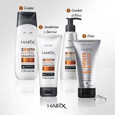 ¡Controla el #frizz del cabello liso y rizado con HairX!