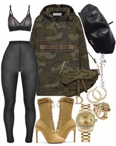 Black Girl Fashion, Funky Fashion, Dope Fashion, Teen Fashion, Ladies Fashion, Vintage Fashion, Bad And Boujee Outfits, Edgy Outfits, Cute Outfits