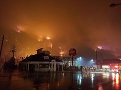 Gatlinburg, Pigeon Forge 11/28/16...wildfire evacuation information
