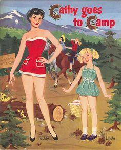 Paper Dolls~Cathy Goes To Camp - Bonnie Jones - Picasa Web Albums