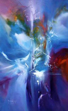 Blue Horse   Artist ~ VJEKOSLAV NEMESH