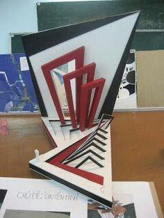 Concept Board Architecture, Conceptual Model Architecture, Nirmana 3d, Trophy Design, Cardboard Sculpture, Arch Model, Abstract Sculpture, Geometric Shapes, Design Elements