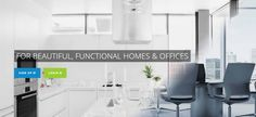 For beautiful and functional homes and offices Contact us Home Repair Services, Offices, Home Office, Homes, Beautiful, Houses, Home Offices, Home, Desk