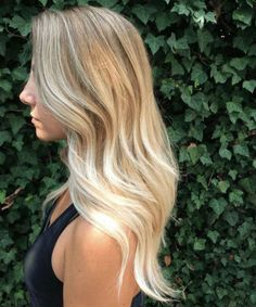 It's true, you can observe that balayage works pretty nicely with all hair lengths. Still another website to explain to you how balayage is finished. Hair Color And Cut, Ombre Hair Color, Sombre Blond, Blonde Bayalage Hair, Light Blonde Balayage, Baylage, Blonde Brunette, Purple Shampoo For Blondes, Blonde Shampoo Purple
