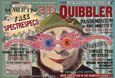 Front page of The Quibbler from Harry Potter and The Half-Blood Prince