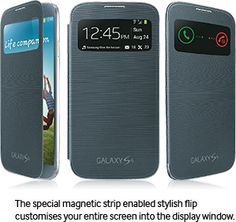 Galaxy S view cover Free for all Samsing Galaxy S4 Owner's